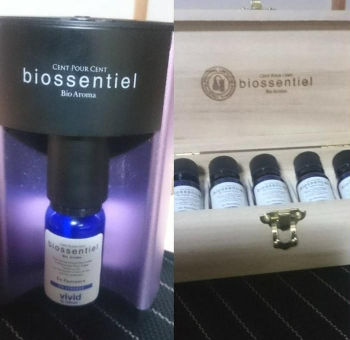 その他 施術ルームには、biossentielのディフューザー&オイルの香りでリラックスして頂けます。