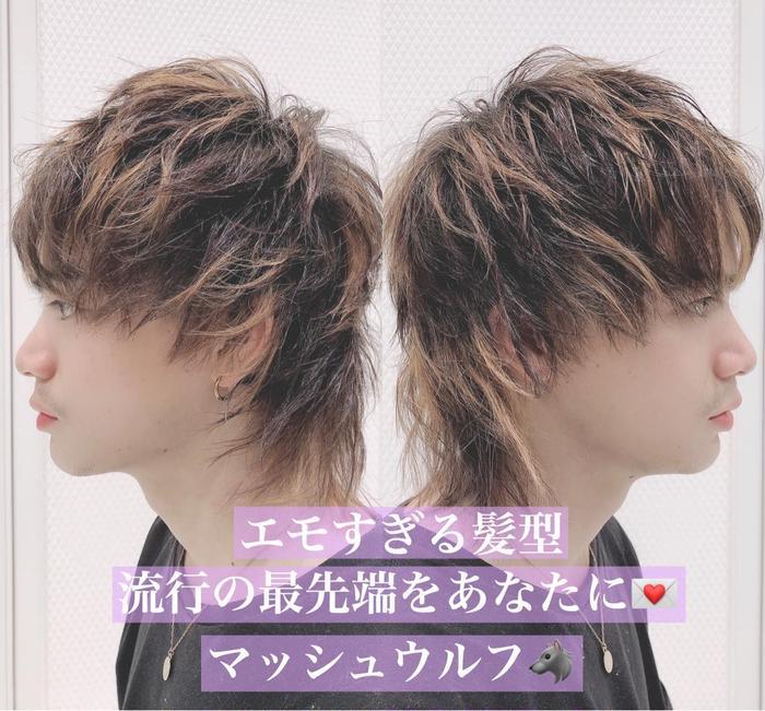 マッシュ 男子 髪型