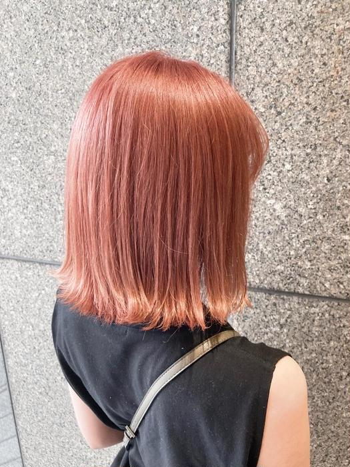 ピンク 色 サーモン