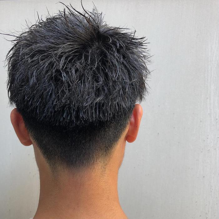 ツイスト パーマ 短髪