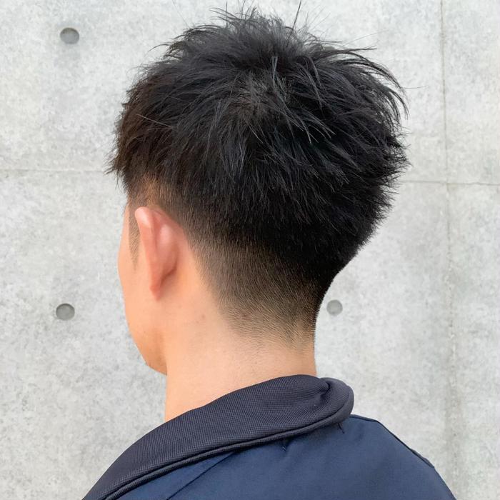 後ろの刈り上げも綺麗にグラデーション !|larte所属・たまき ゆうき ...