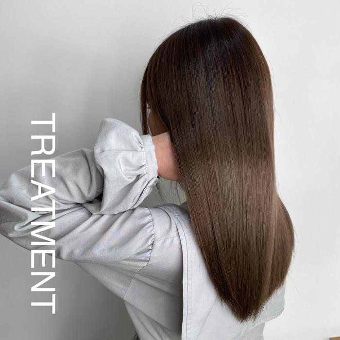 ロング 髪質改善トリートメントはブリーチなどでいたんだ髪の毛でも、サラサラに柔らかく仕上がります!