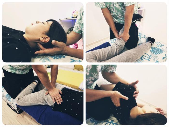 #その他 ついに世界が認めた自律神経調整法『セロトニン活性療法』が栃木県に上陸! 頭部・顔・首・背中・腰・骨盤・仙骨・内臓をソフトタッチで優しく触れ、脳波を刺激してセロトニンを分泌させ、自律神経を整える科学的証拠(エビデンス)を取得した施術法です。 【こんな方にオススメ!】頭痛・首肩コリ・肩痛(五十肩等)・背中痛・腰痛・内臓の不調・骨盤の歪み・不眠・ストレス・うつ・倦怠感・婦人科系の悩みなど。  県内でこの技術を受けられる整体院は、HAKA HAKAだけです!