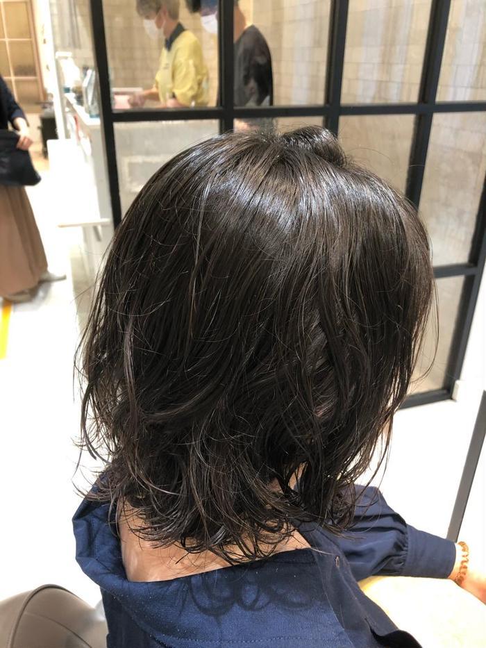 パーマ ミディアム アラフィフ女性におすすめ!大人のミディアムヘア・髪型20選
