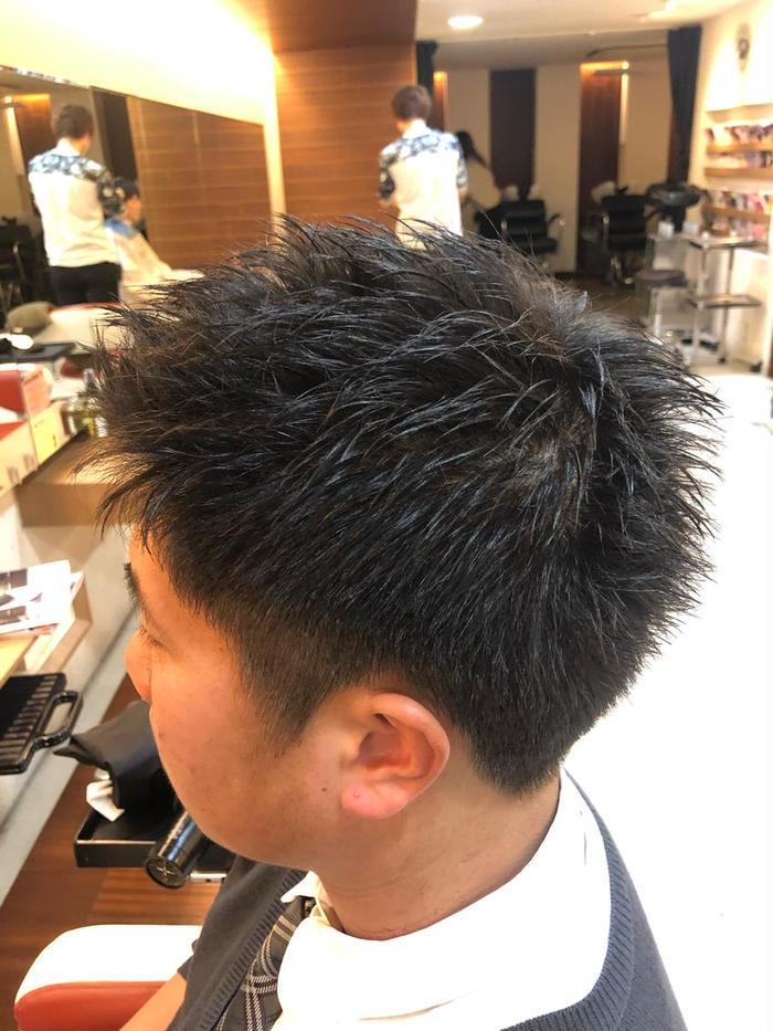 髪型 ショート 男子 高校生 ベリー