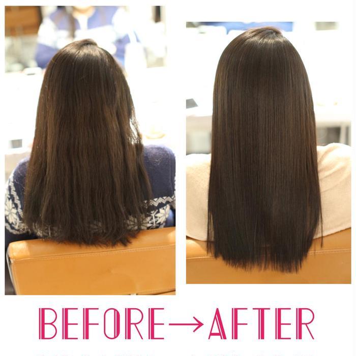 矯正 縮 質 毛 改善 髪