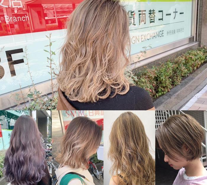 AMI HairSupply所属・stylist TKの掲載