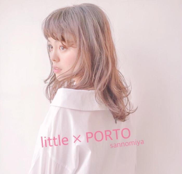 little×PORTO sannomiya所属・Stylist HARUの掲載