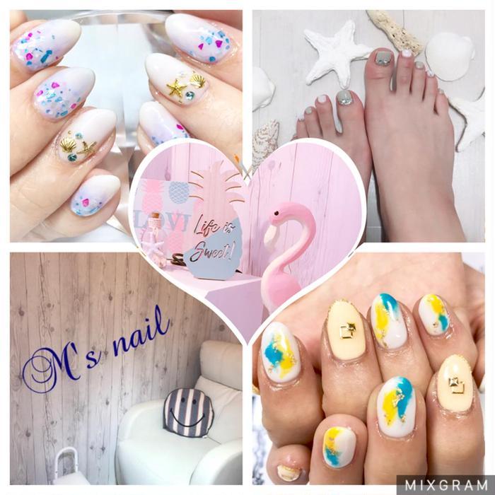 M's nail所属・M'snail ♡の掲載