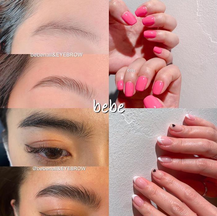 bebenail所属・bebe nail&美眉の掲載
