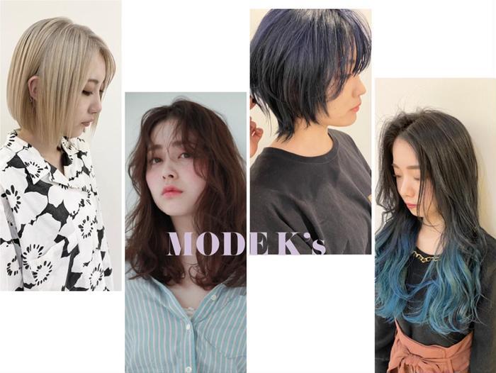 MODE  K's 心斎橋店所属・ヨシモト カンジの掲載