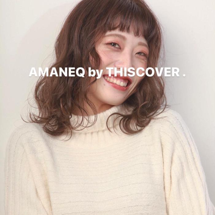 AMANEQbyTHISCOVER.所属・🍰小玉 杏華🧁の掲載