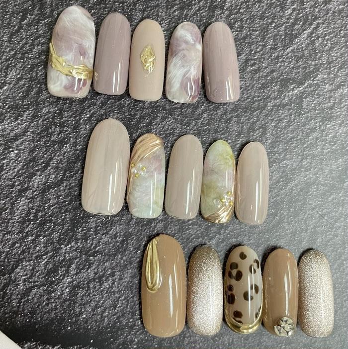 nail salon Ribbon所属・salon予約 担当の掲載