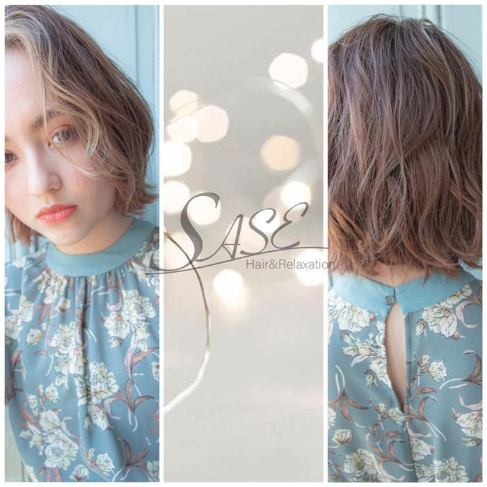 Hair&Relaxation SASE所属・WAKA/trend style🕊🍑の掲載
