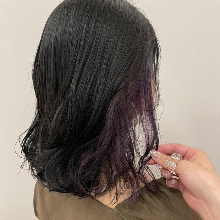 ParveMix所属・『透け感カラー』山本 紗奈の掲載