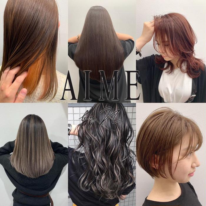 AIME by n所属・石 京佳の掲載