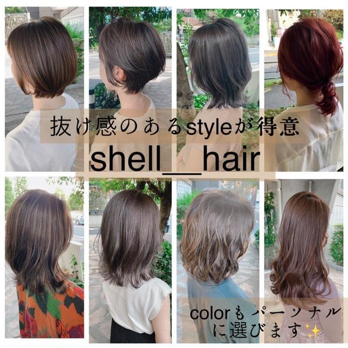 shell-hair所属・武藤 貴洋の掲載