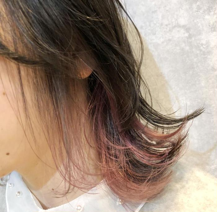 AGU hair marron所属・桑谷 愛の掲載