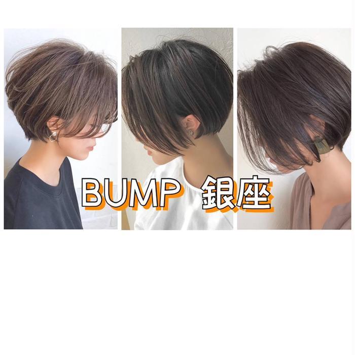 BUMP銀座所属・似合わせ小顔ショート 西尾 翼の掲載