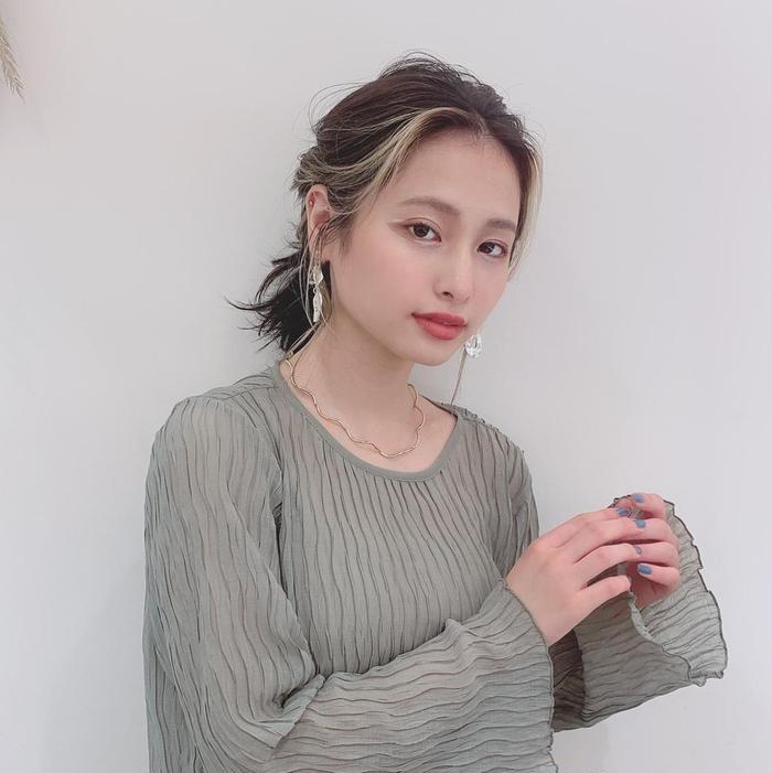 marju銀座所属・ツヤ美髪カラー レナの掲載