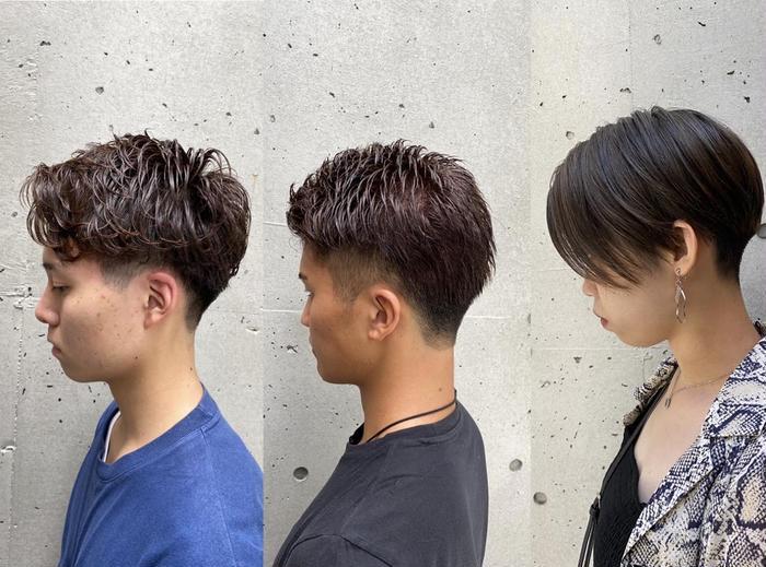Hairsalon    BREEN Tokyo所属・木津谷 廉の掲載