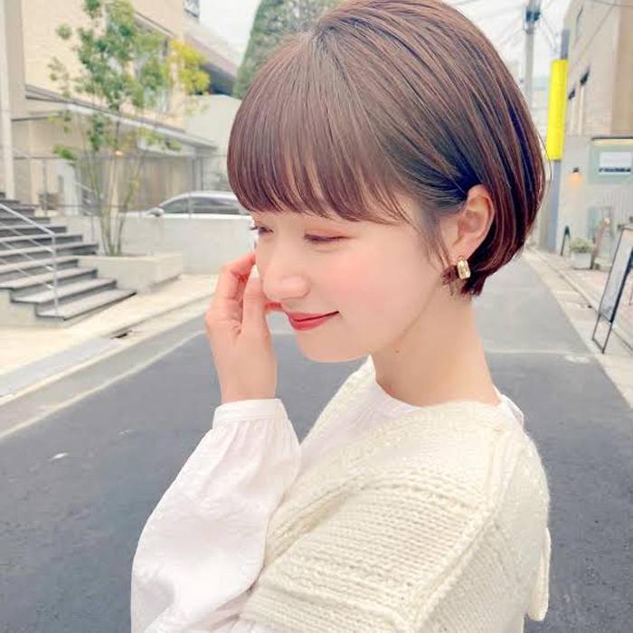 hair RIMA所属・ショートボブモデル 2200円の掲載