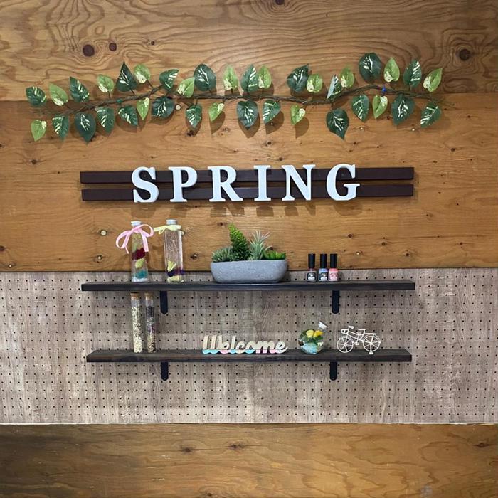 Spring所属・Spring nailの掲載