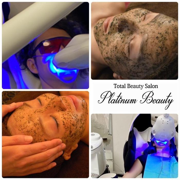 Platinum Beauty プラチナムビューティー ハーブピーリング&セルフホワイトニング専門店所属・Platinum Beautyもものりの掲載