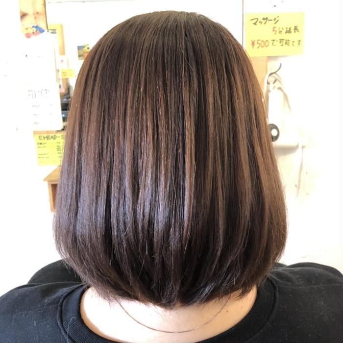 UNITE  hair home所属・鴨志田 珠々希の掲載